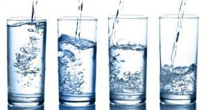 boire de l'eau sperme