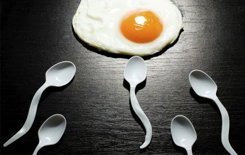 sperme épais