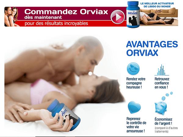Orviax Avis : verdict et opinion sur ce traitement anti pannes sexuelles !