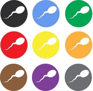 sperm color