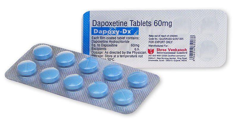 Dapoxetine, médicament pour retarder l'éjaculation
